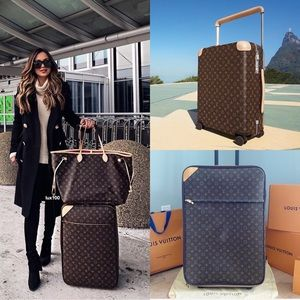 💎✨MASSIVE✨💎Louis Vuitton Rolling Luggage Auth!